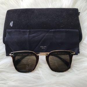 CELINE CL 41402/S tortoise/gold sunglasses